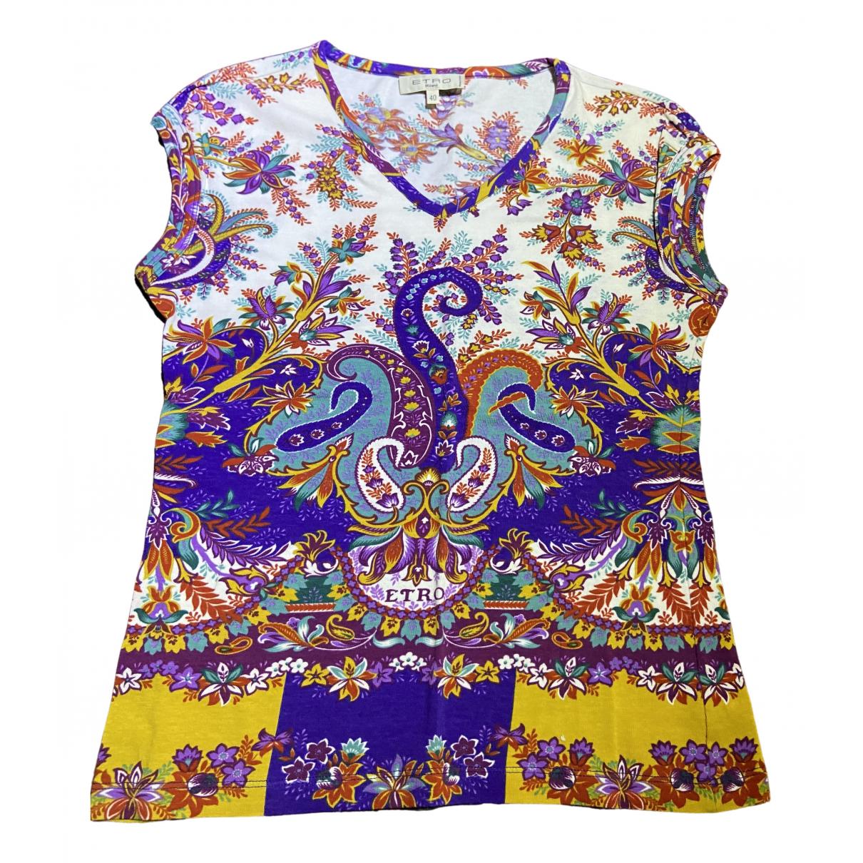 Etro N Multicolour Cotton  top for Women 40 IT