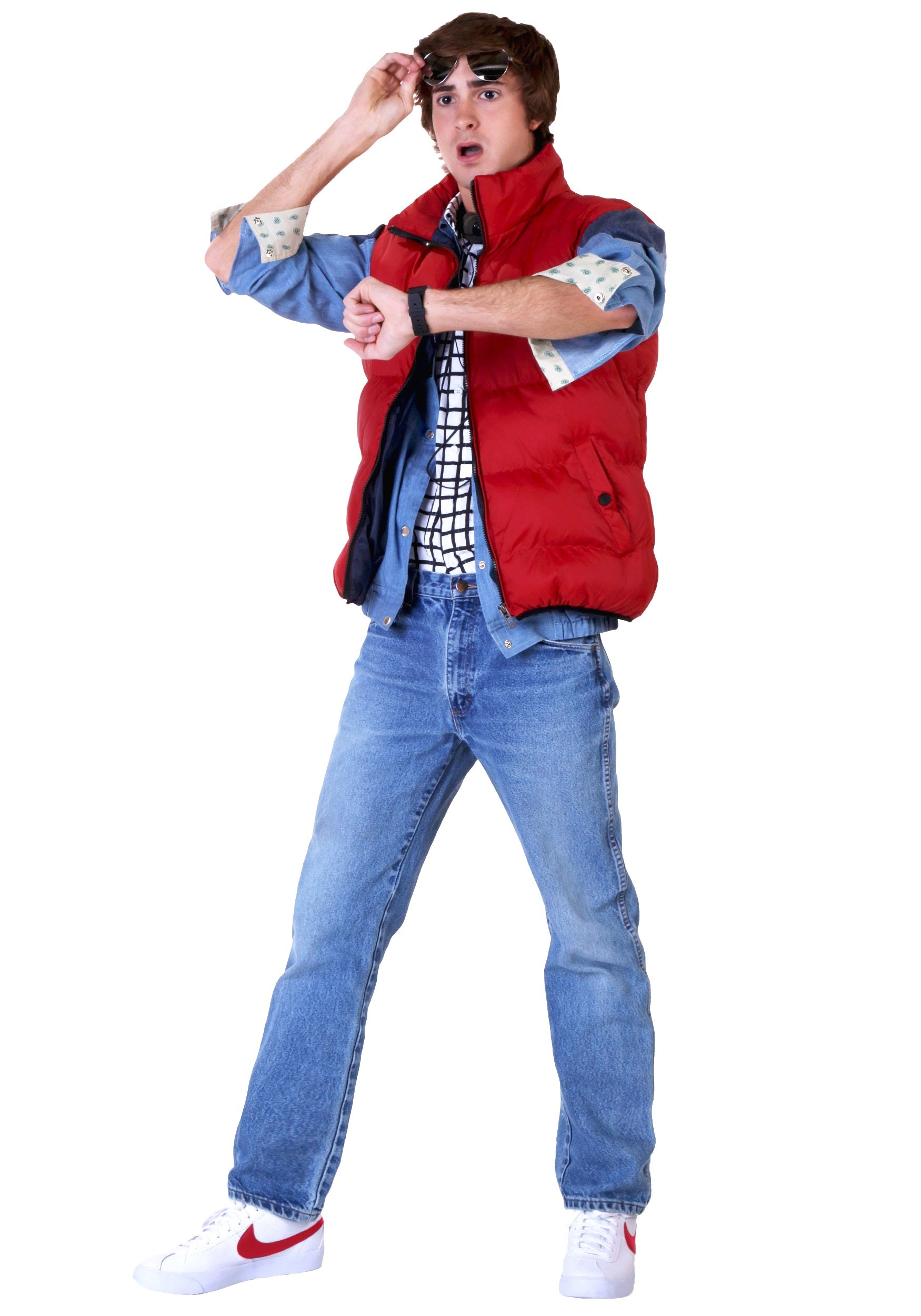 Back to the Future Marty McFly Costume | Movie Cosplay Costumes