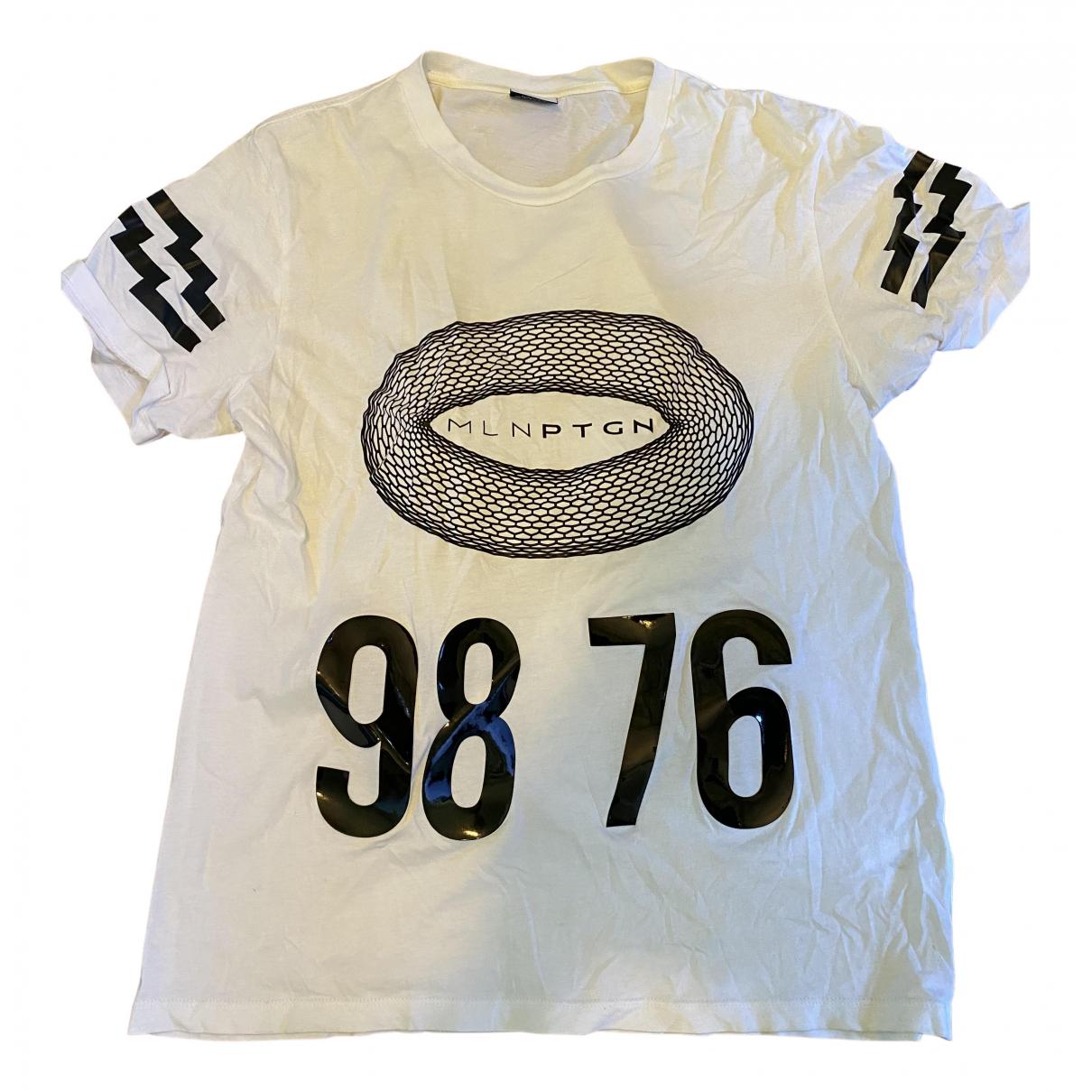 Marcelo Burlon - Tee shirts   pour homme en coton - blanc