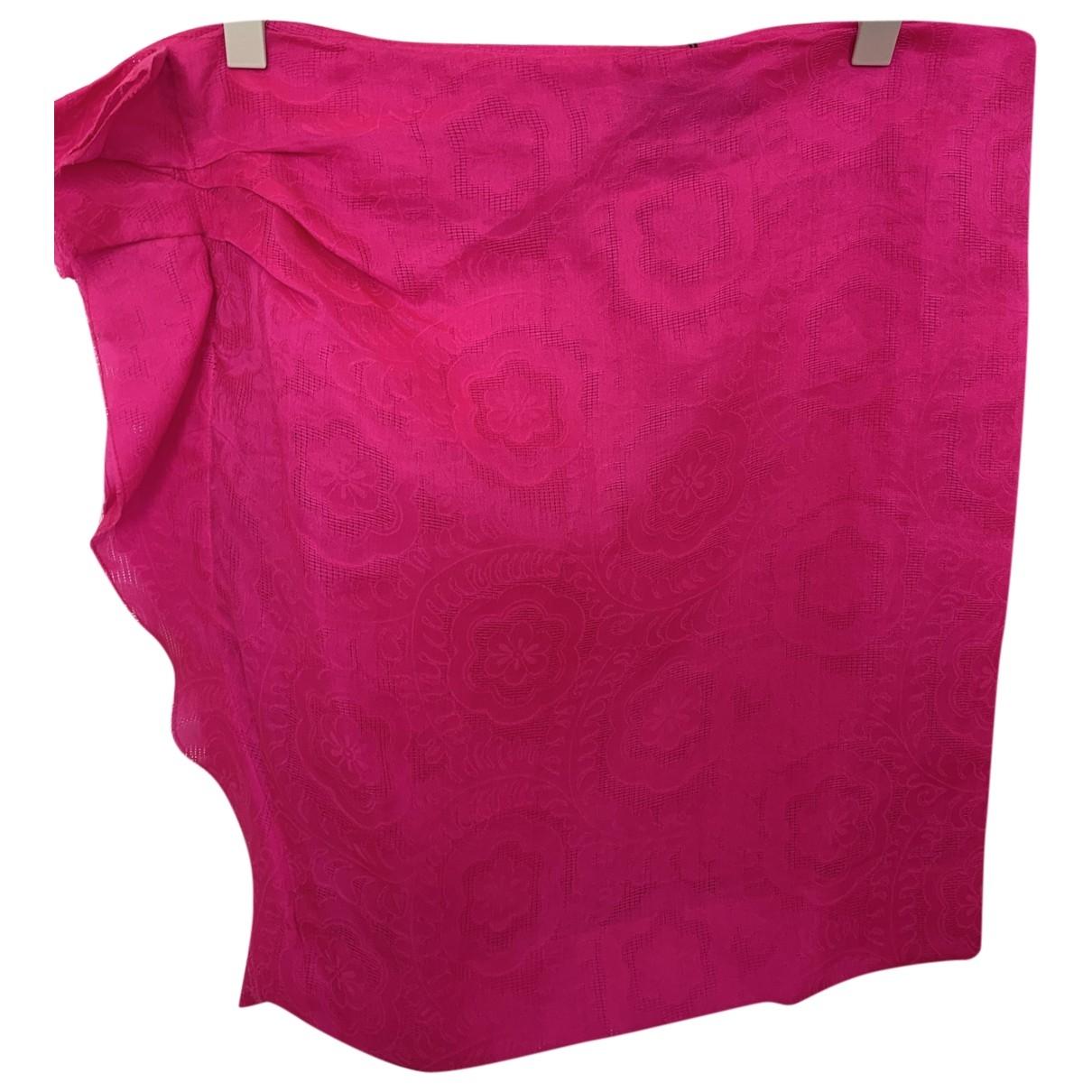 Isabel Marant - Jupe   pour femme en soie - rose