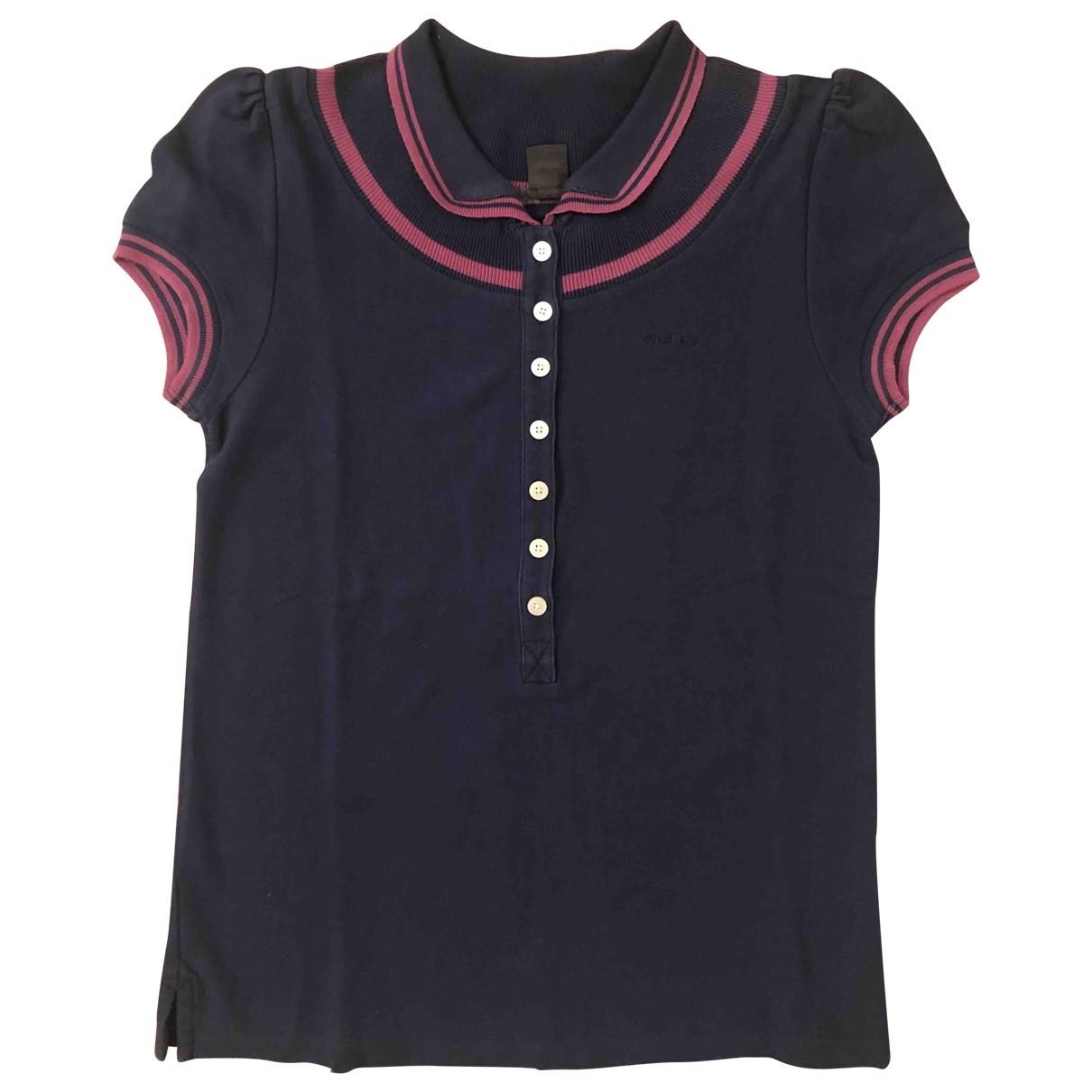 Marc Jacobs - Top   pour femme en coton - bleu