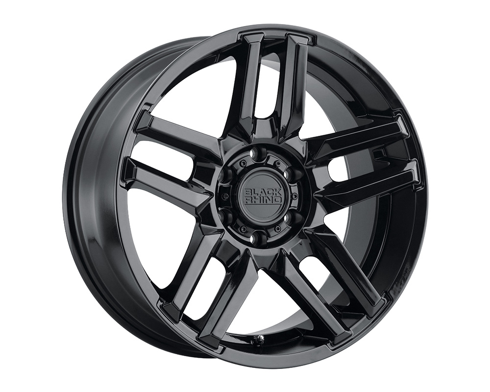 Black Rhino Mesa Wheel 17x8.5  5x114.3 -18mm Matte Black w/Machined Face
