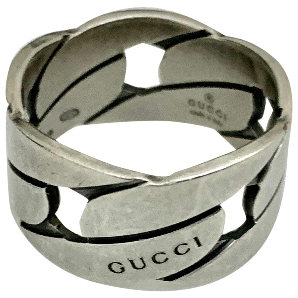 Gucci \N Schmuckstuecke in  Silber Silber