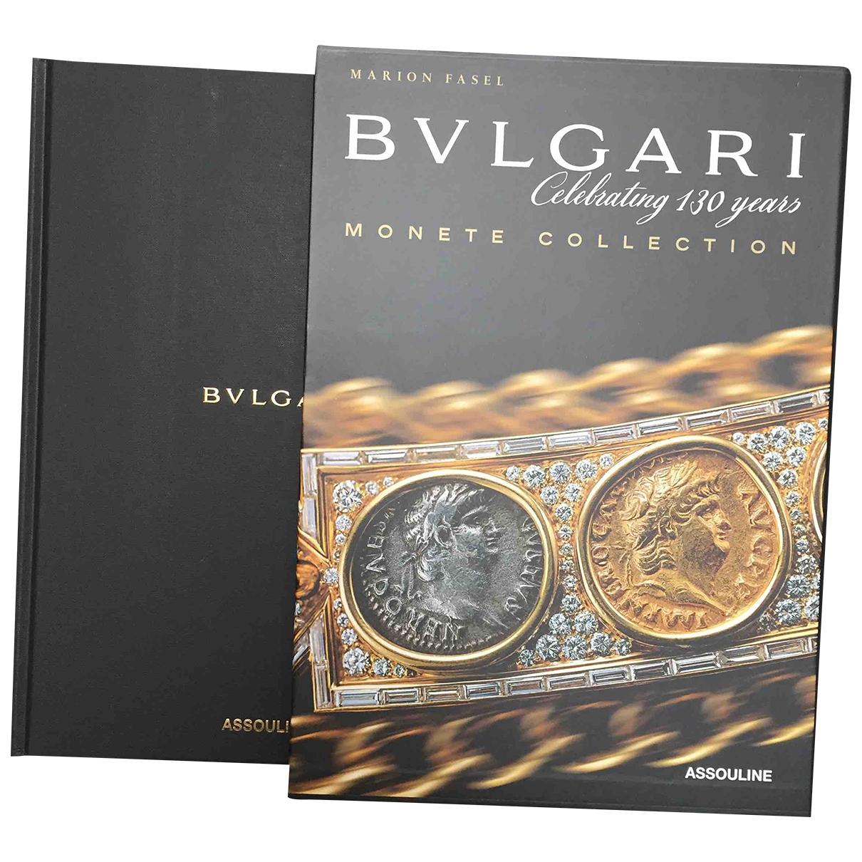 Bvlgari - Mode   pour lifestyle en coton - noir