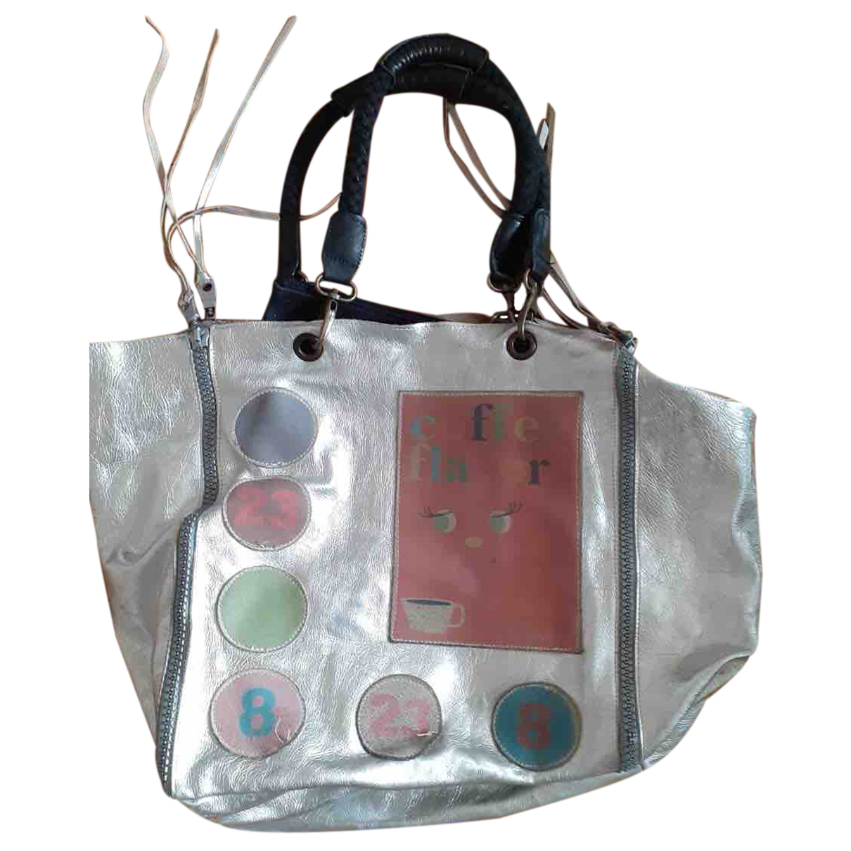 Barbara Bui N Silver Glitter handbag for Women N