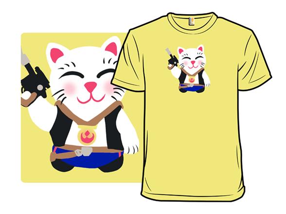 Scoundrel Cat T Shirt