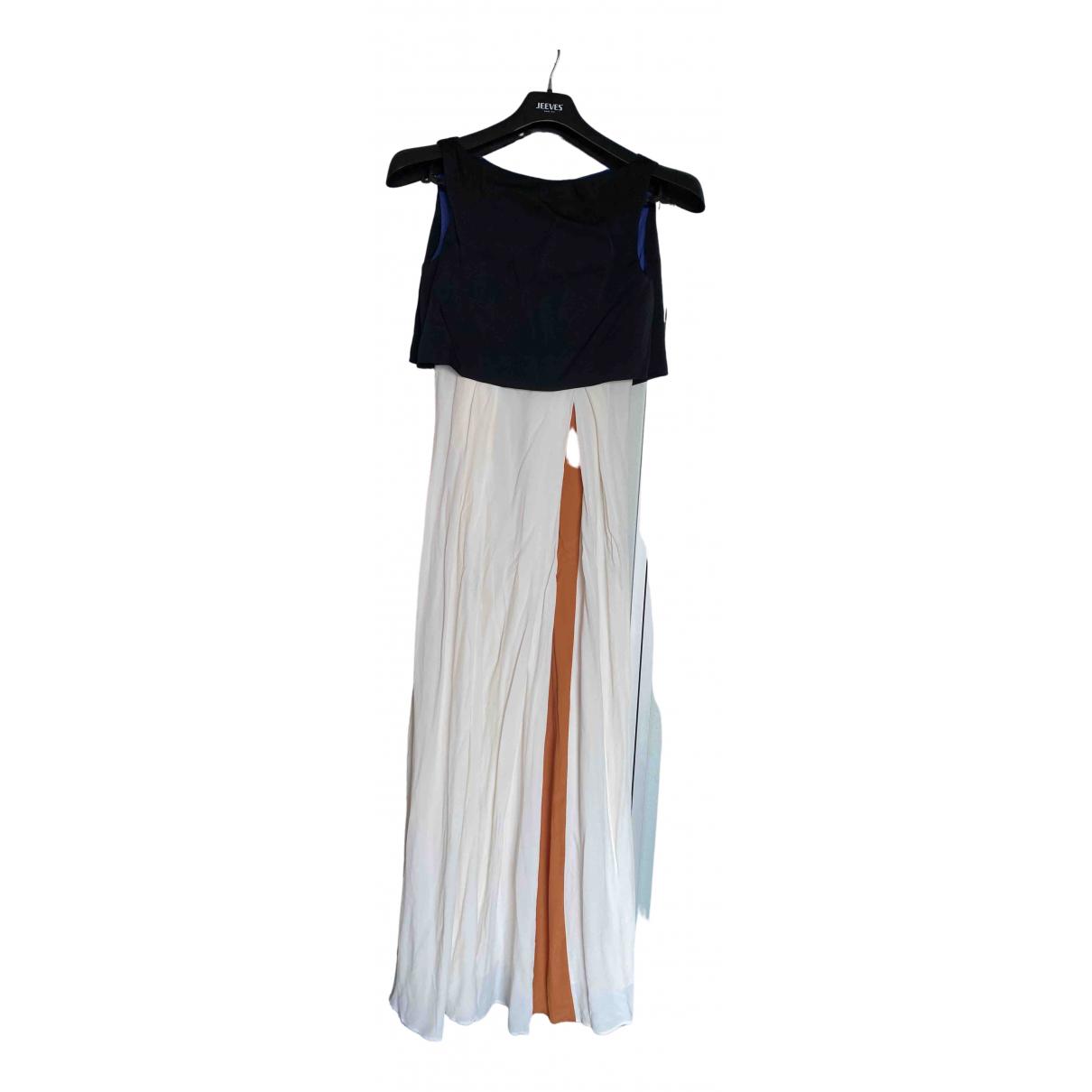 Roksanda Ilincic - Robe   pour femme en soie - multicolore