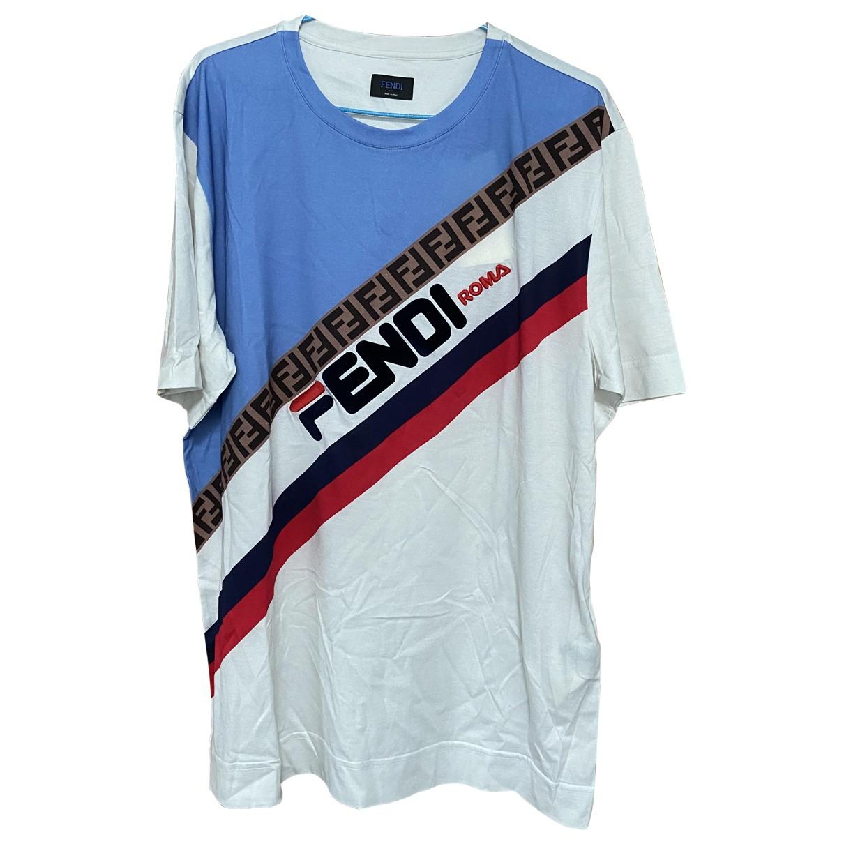Camiseta Fendi X Fila