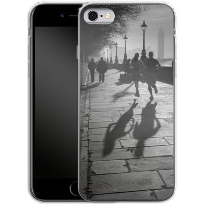 Apple iPhone 6s Silikon Handyhuelle - Walk If You Must von Ronya Galka