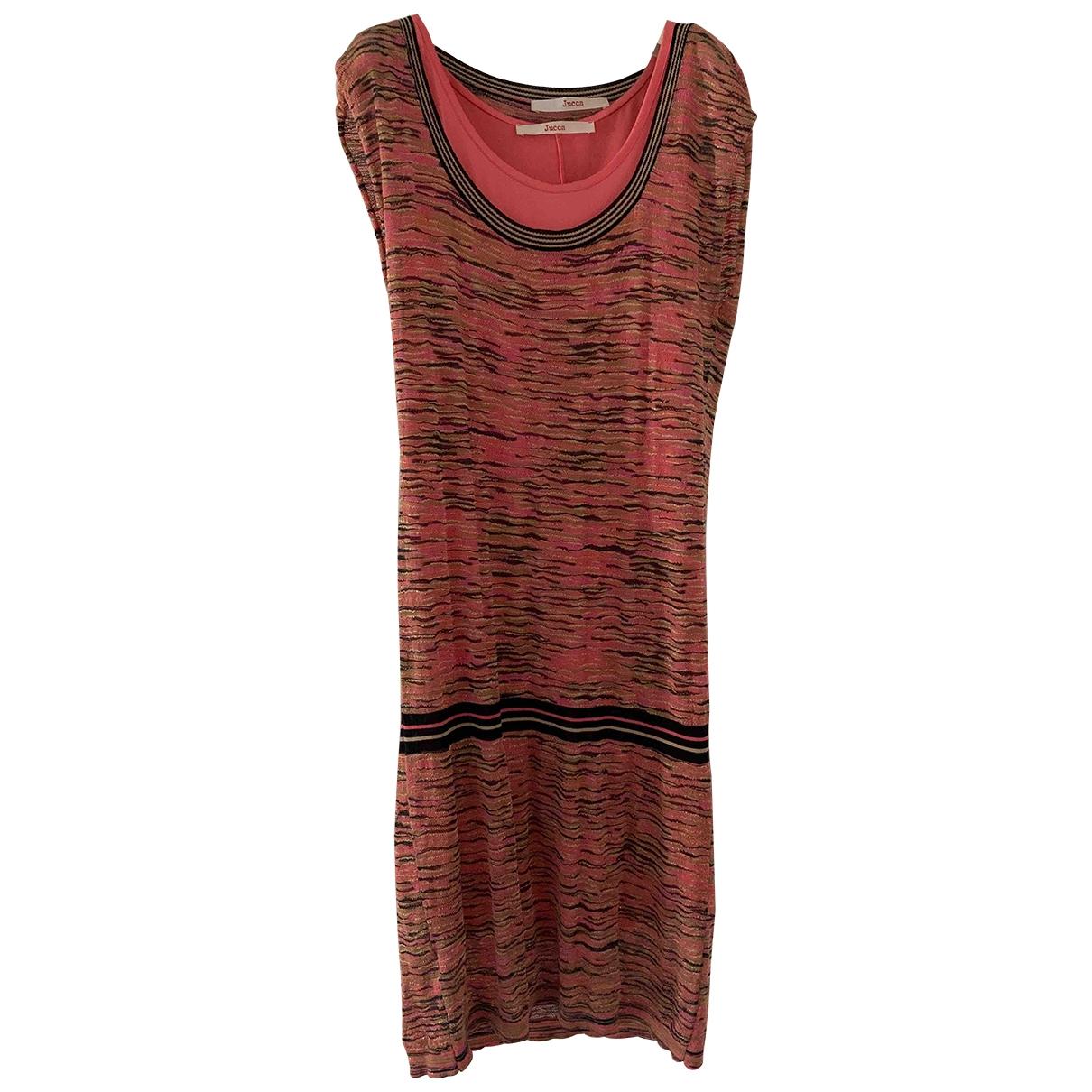 Jucca \N Kleid in  Bunt Baumwolle - Elasthan