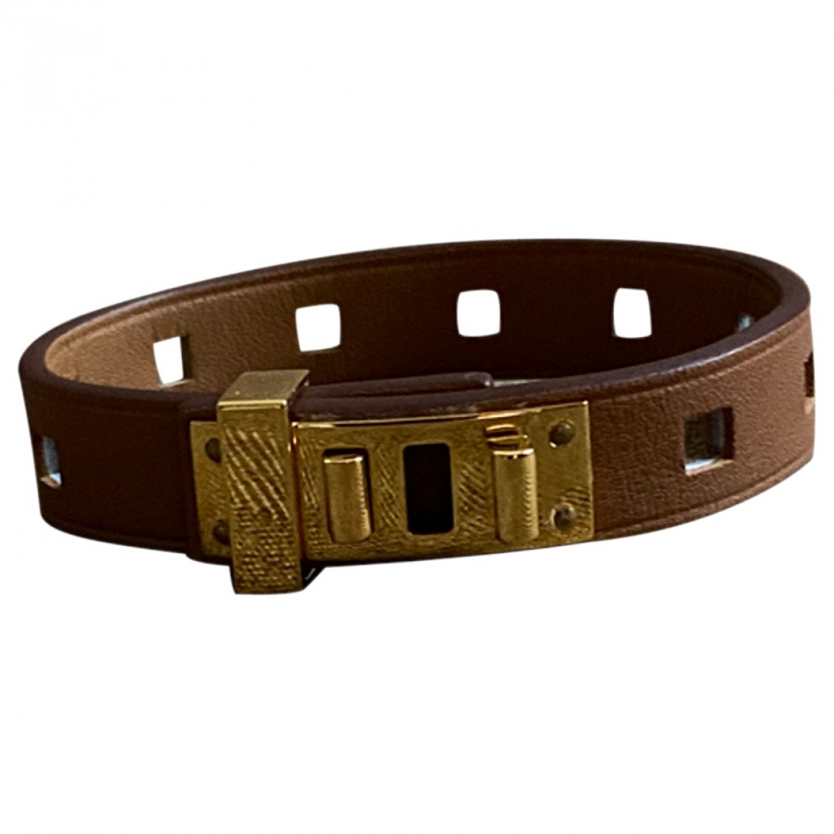 Pulsera Mini Dog de Cuero Hermes