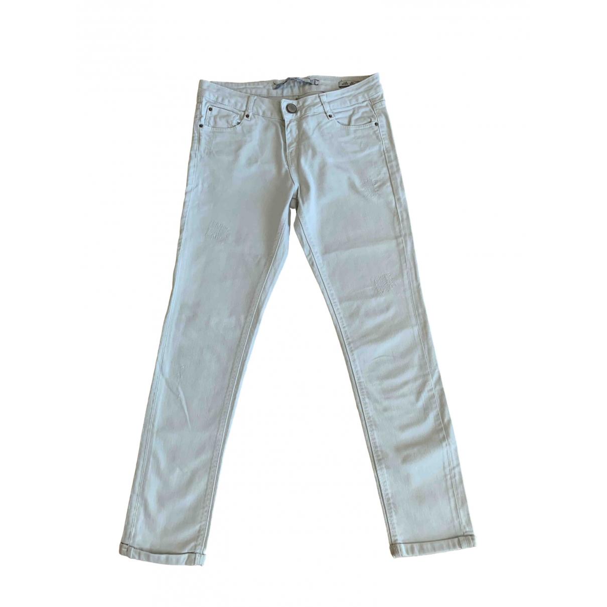 Zara \N White Denim - Jeans Jeans for Women 26 US