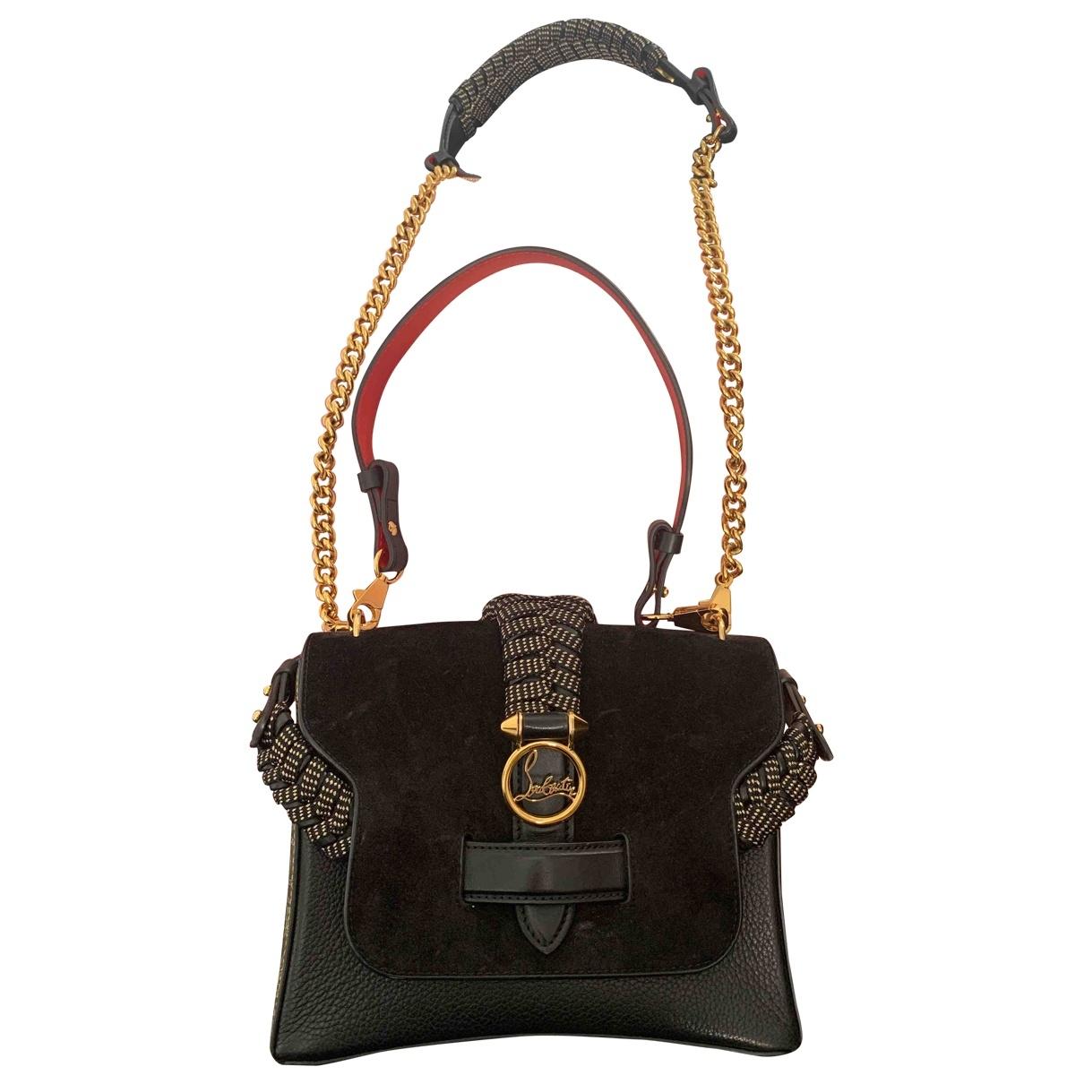 Christian Louboutin Rubylou Black Suede handbag for Women \N
