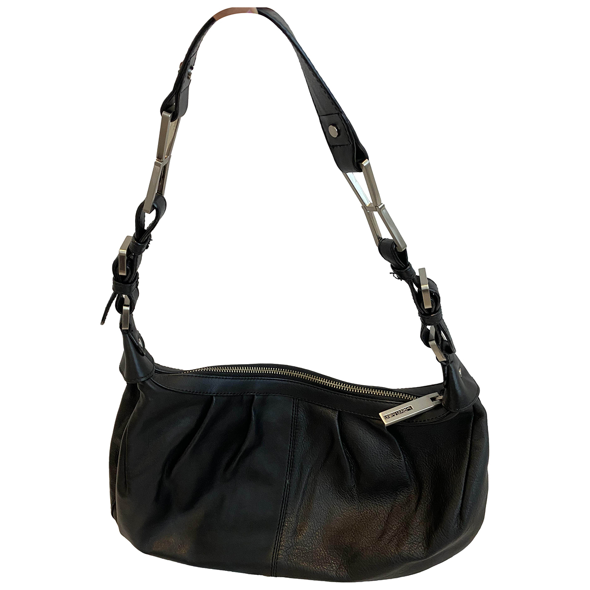 Calvin Klein \N Black Leather handbag for Women \N