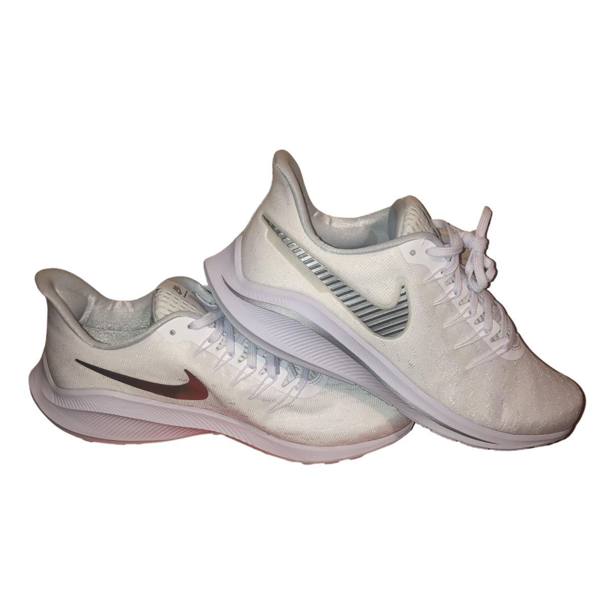 Nike - Baskets Zoom pour homme - blanc
