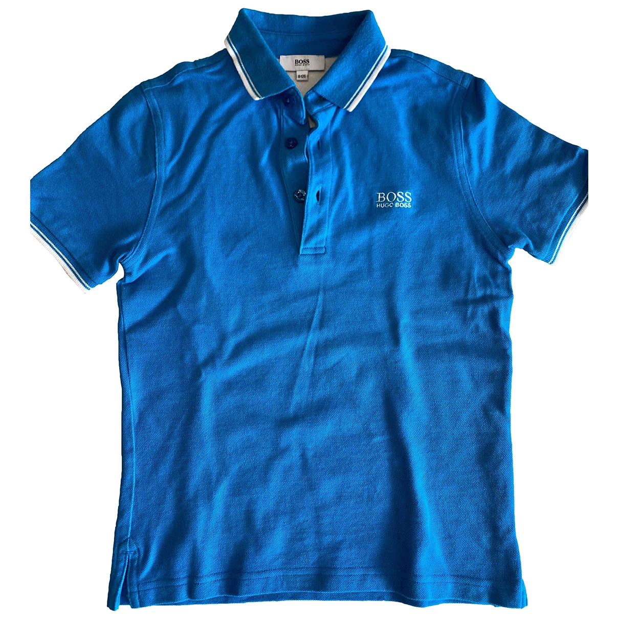 Boss \N Turquoise Cotton  top for Kids 8 years - up to 128cm FR
