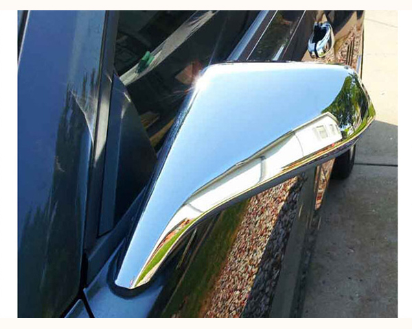 Quality Automotive Accessories Chrome Plated ABS Plastic 2-Piece Mirror Cover Set Chevrolet Camaro 2014