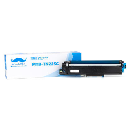 Compatible Brother TN223 Cyan Toner Cartridge - With Chip