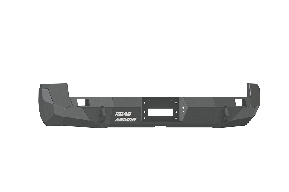 TOYOTA Rear Winch Bumper TACOMA 05-15 BLACK Road Armor 99020B Stealth Series