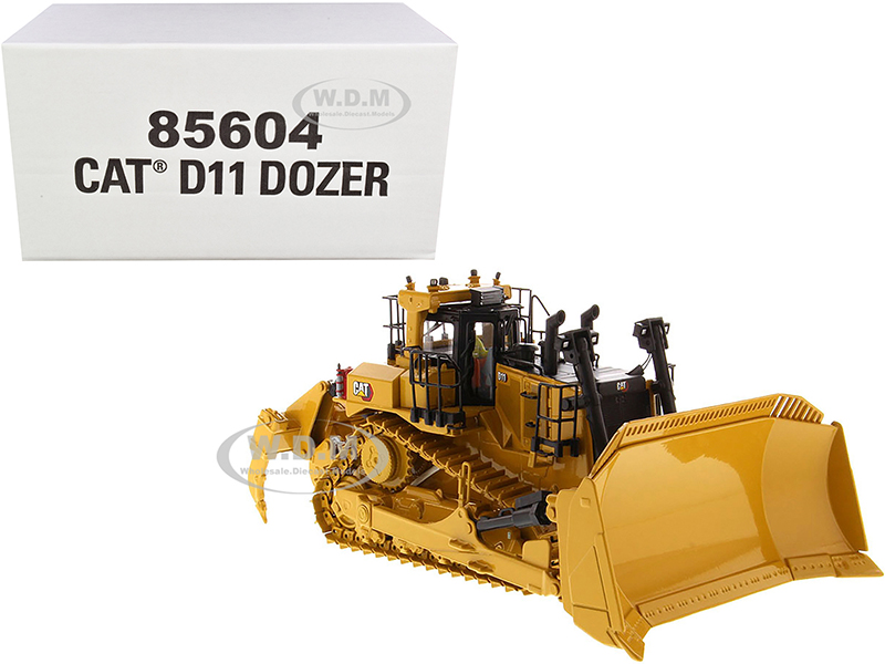 CAT Caterpillar D11 Fusion Track-Type Tractor Dozer with Operator