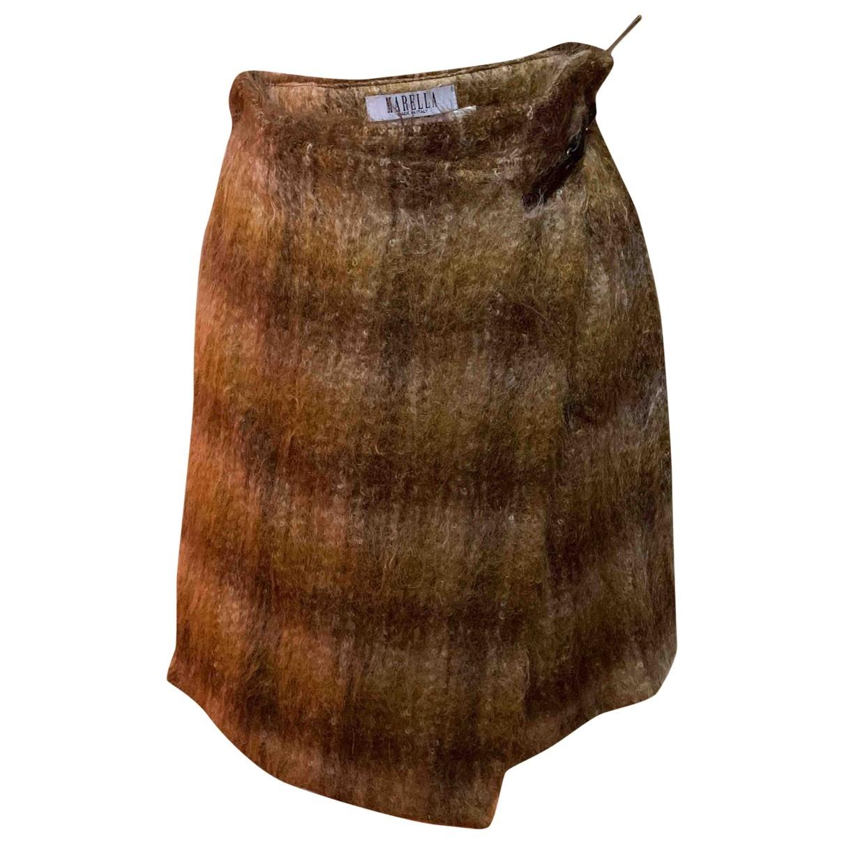 Marella \N Rocke in  Braun Wolle