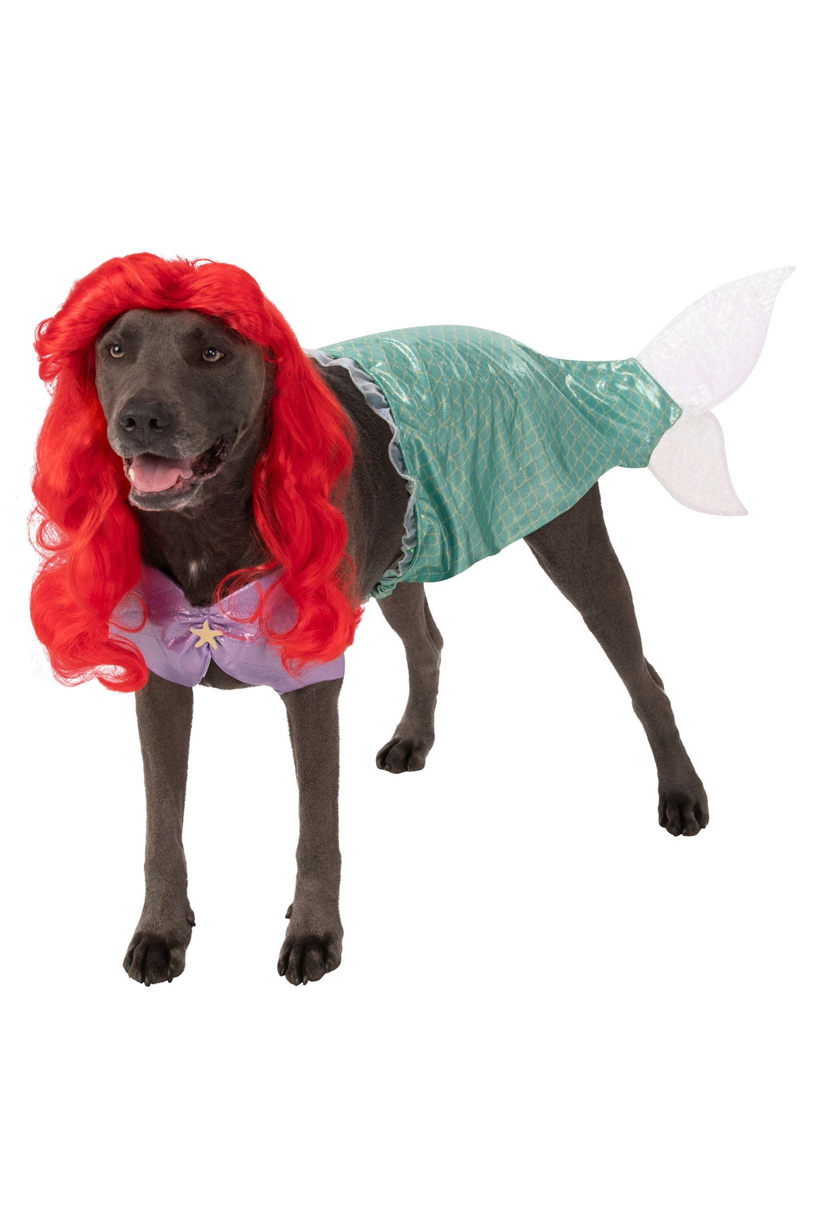 Plus Size - The Little Mermaid Ariel Dog Costume