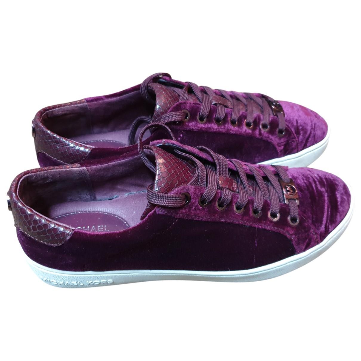 Michael Kors \N Sneakers in  Lila Samt