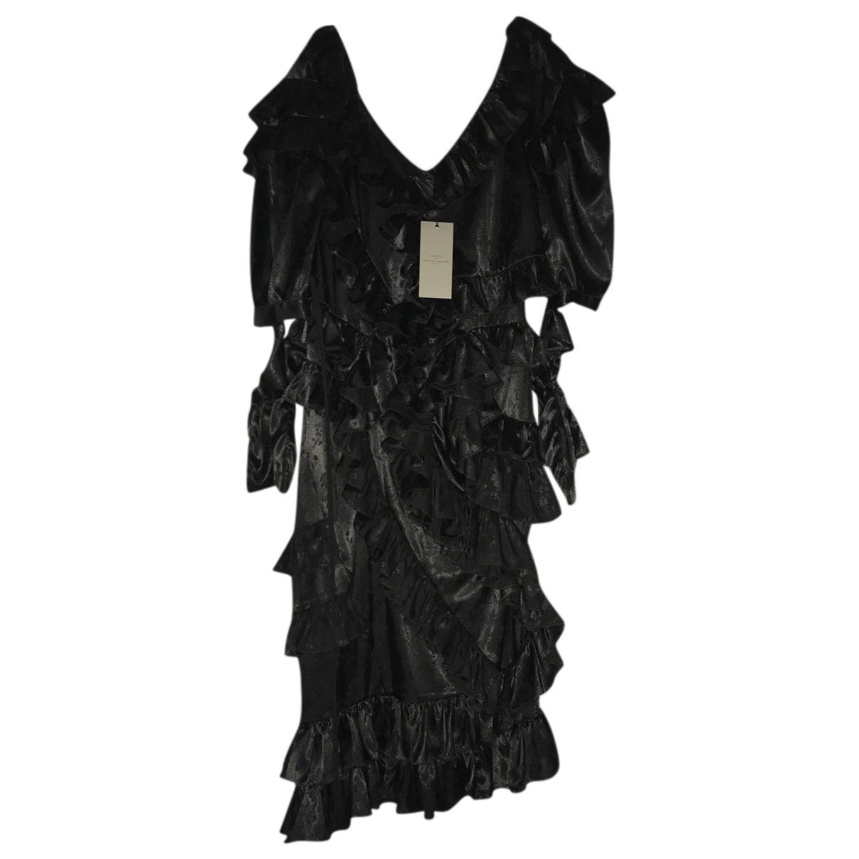 Preen By Thornton Bregazzi \N Kleid in  Schwarz Polyester
