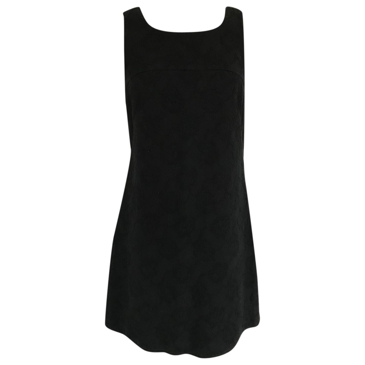 Tara Jarmon \N Black Cotton dress for Women 36 FR