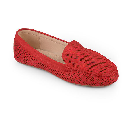 Journee Collection Womens Halsey Loafers, 9 Medium, Red