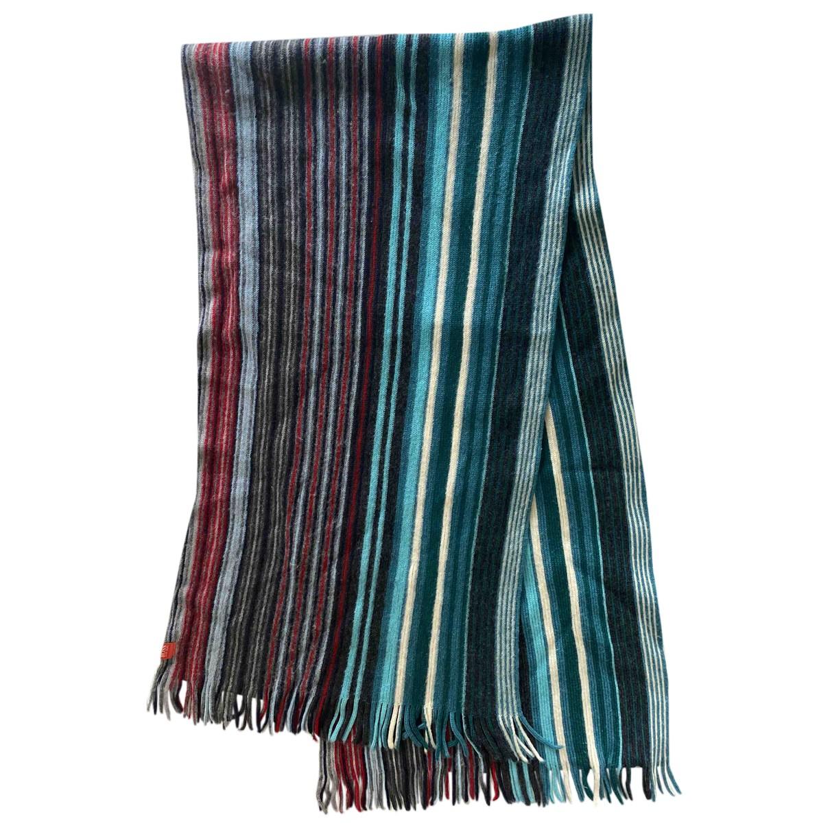 Hugo Boss - Cheches.Echarpes   pour homme en laine - multicolore