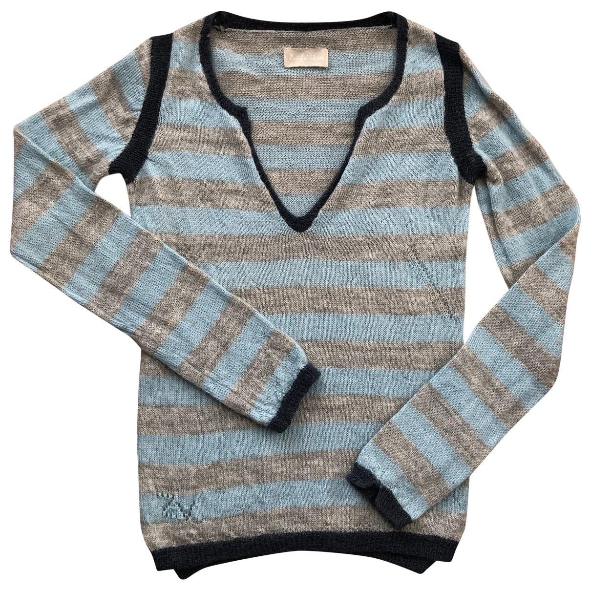 Zadig & Voltaire \N Blue Wool Knitwear for Women S International