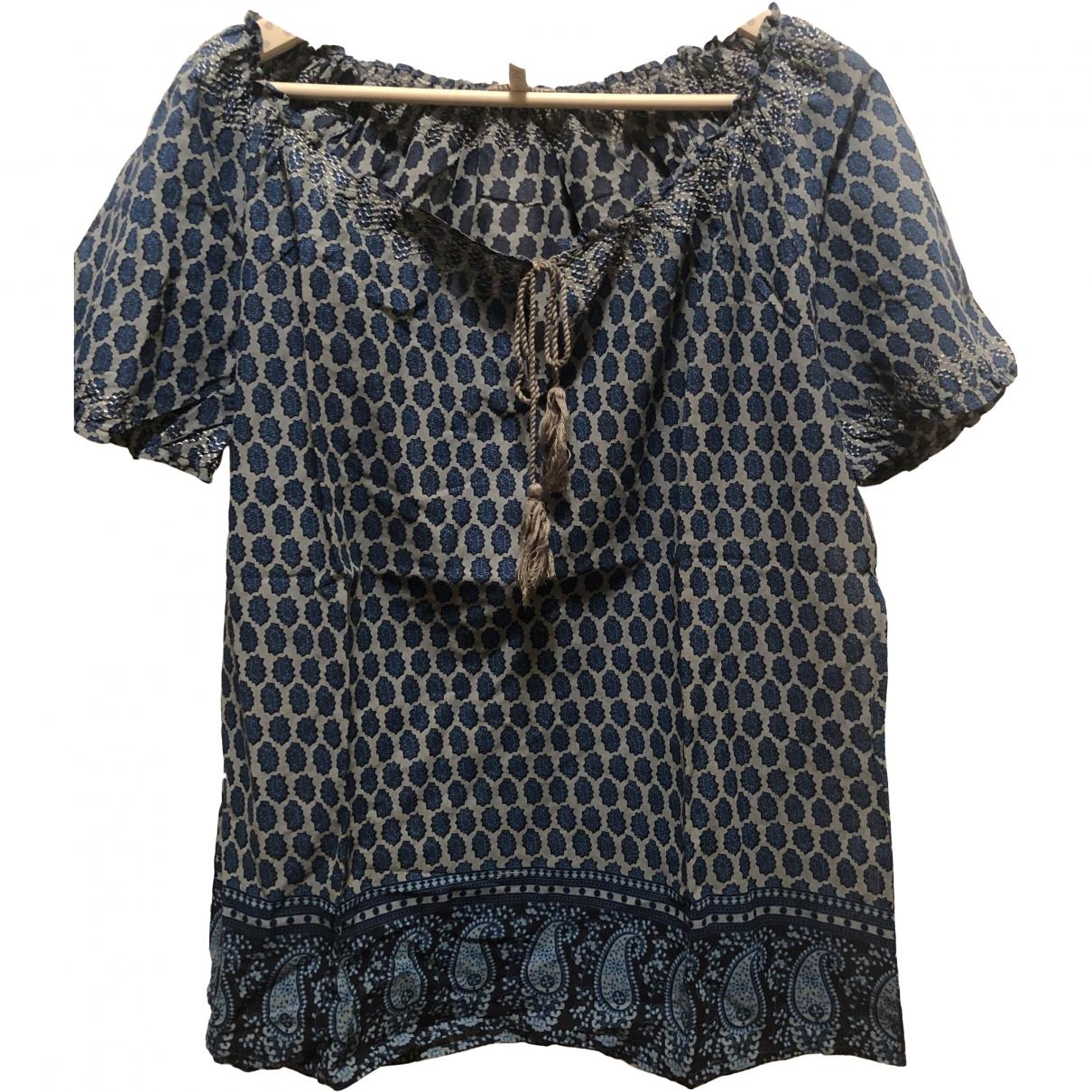 Joie \N Top in  Blau Baumwolle
