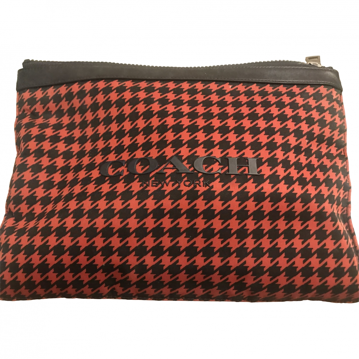 Coach \N Red Cloth Purses, wallet & cases for Women \N