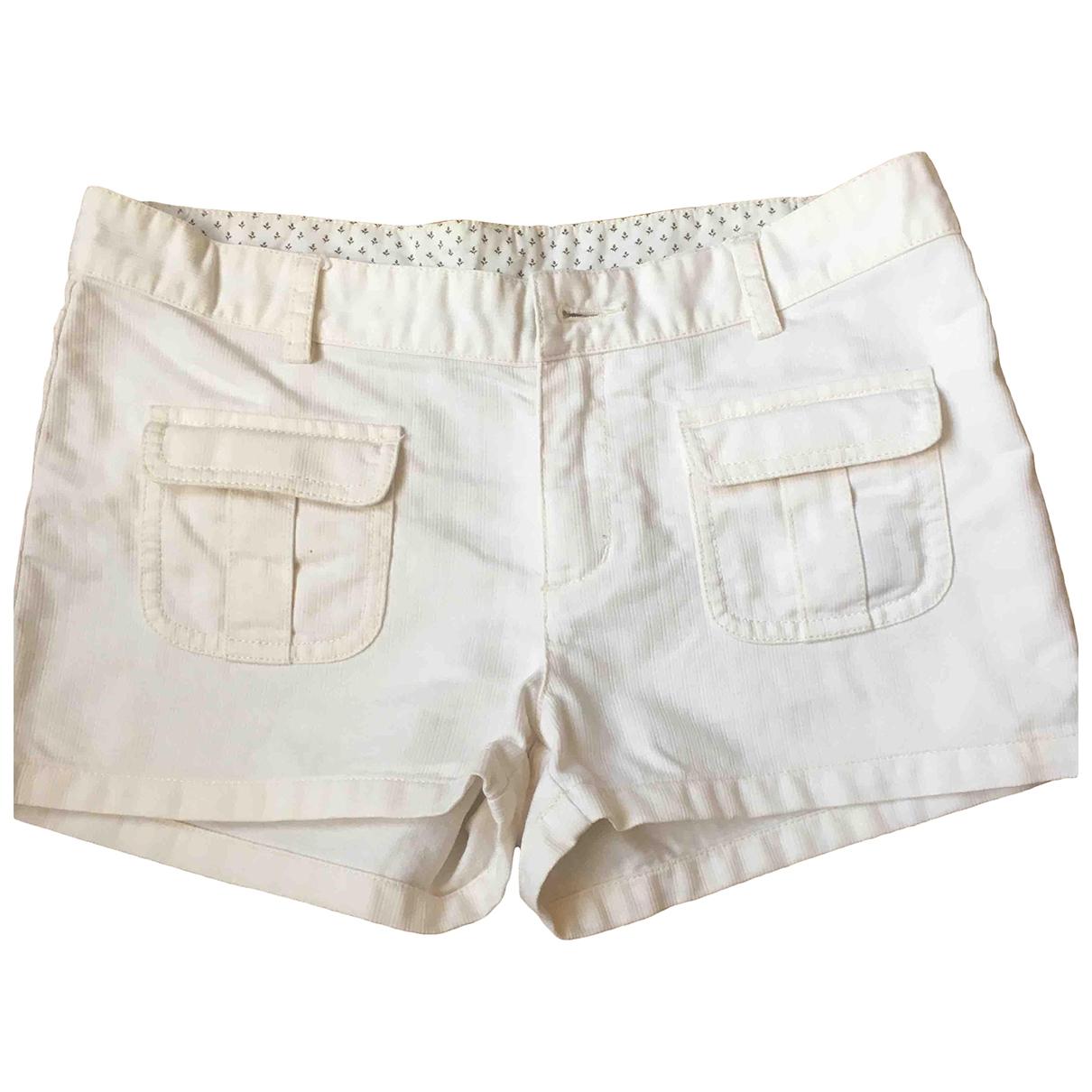 Bonpoint \N Shorts in  Ecru Baumwolle