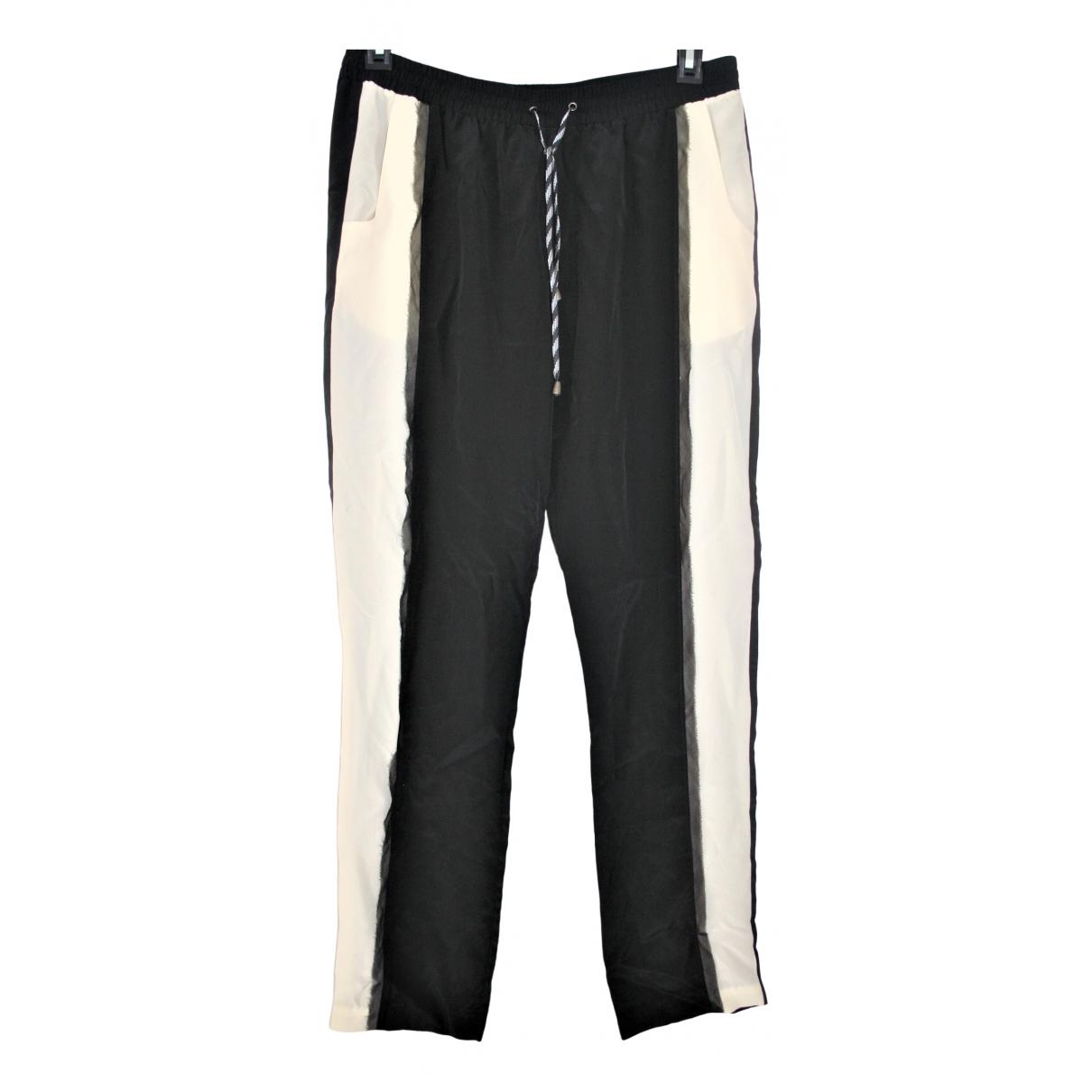 Pantalon recto de Seda Jonathan Simkhai