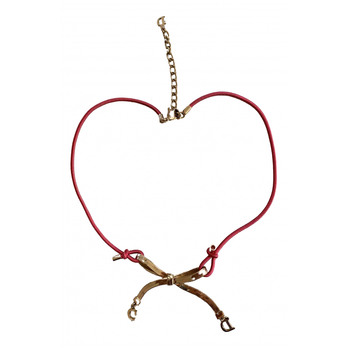 Christian Dior N Multicolour Gold plated necklace for Women N