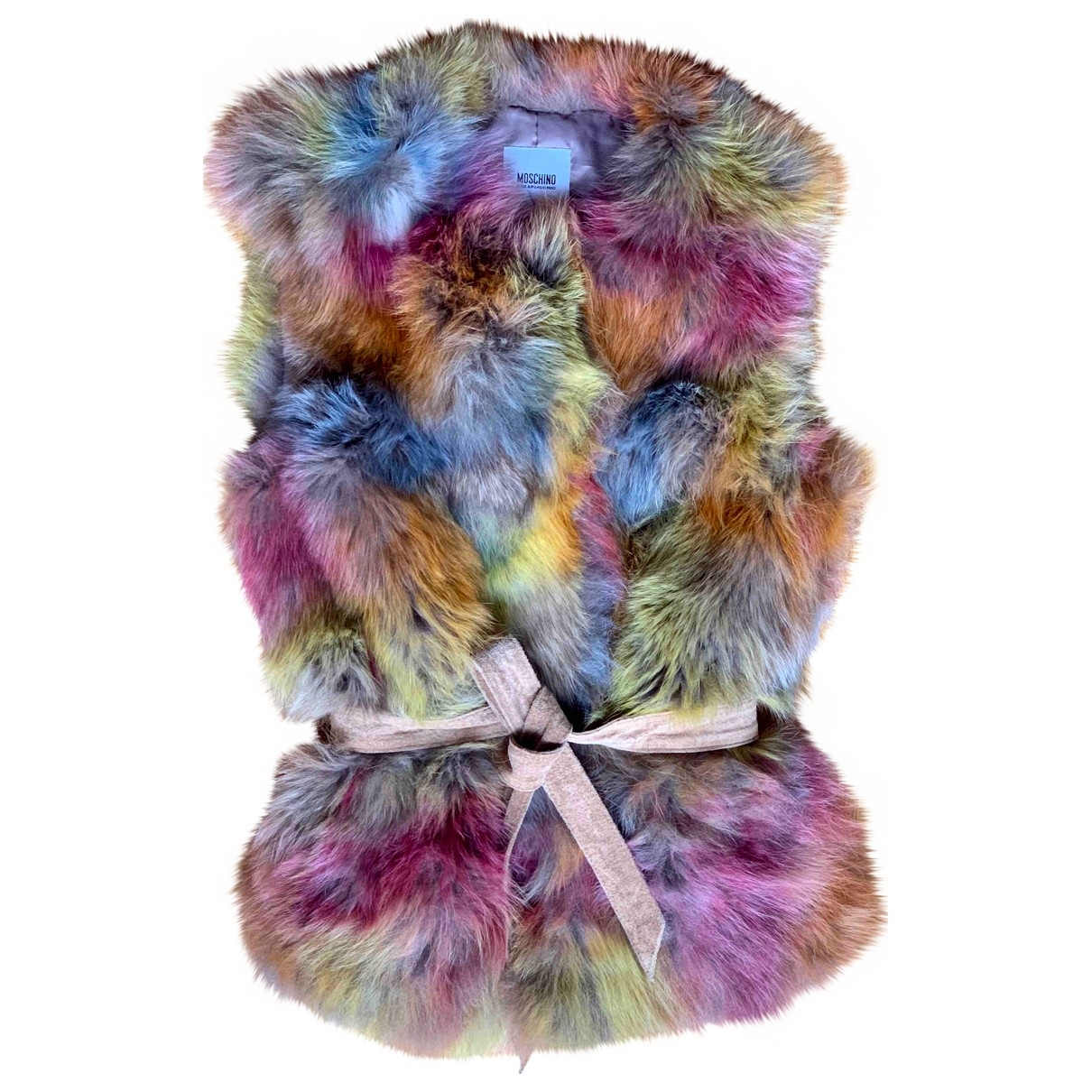 Moschino Cheap And Chic \N Jacke in  Bunt Fuchs