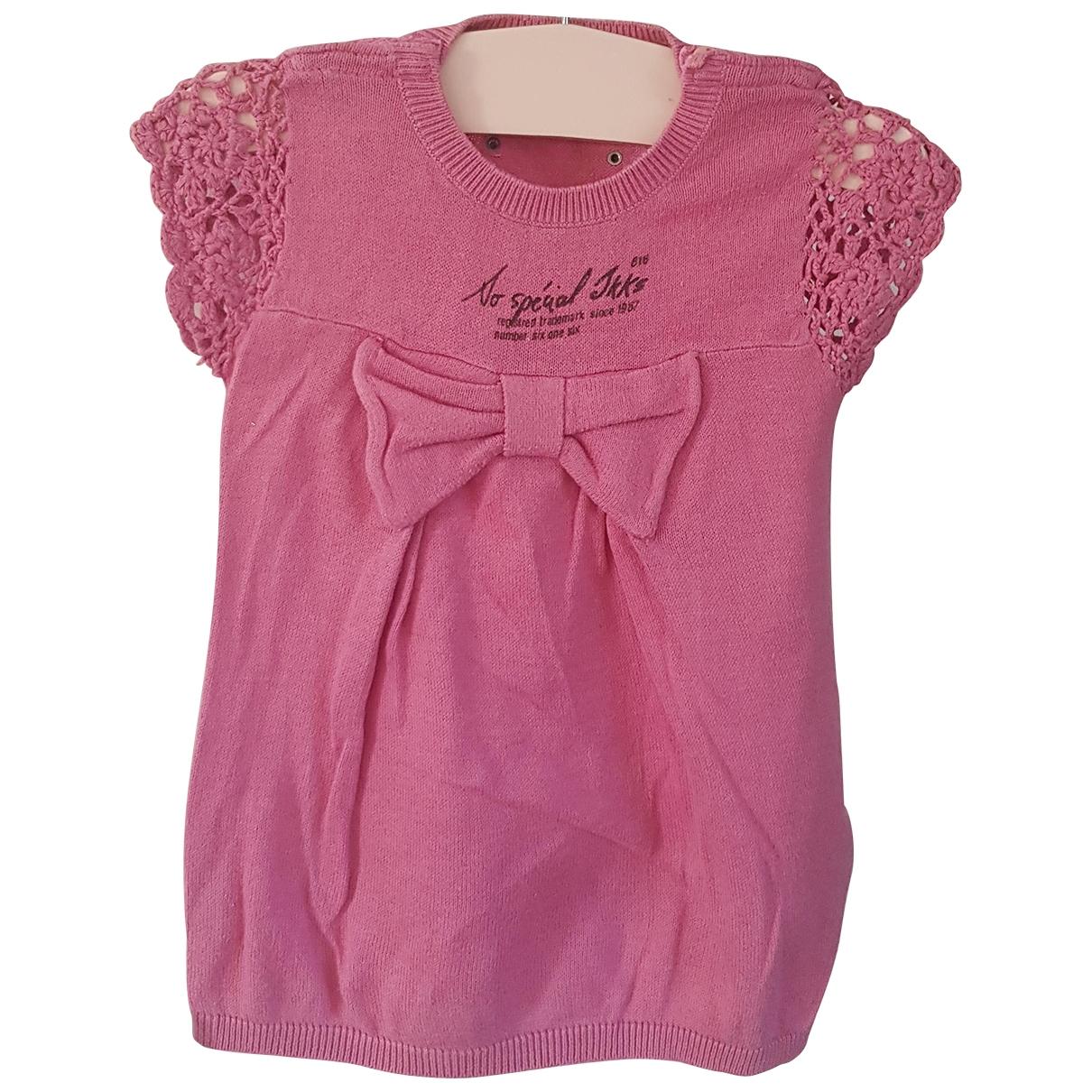 Ikks \N Pink Cotton dress for Kids 3 months - up to 60cm FR