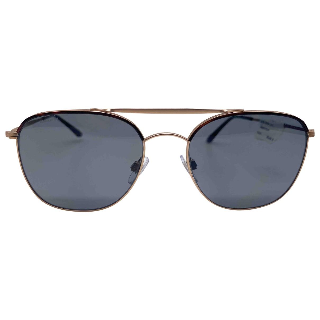 Giorgio Armani \N Gold Metal Sunglasses for Men \N