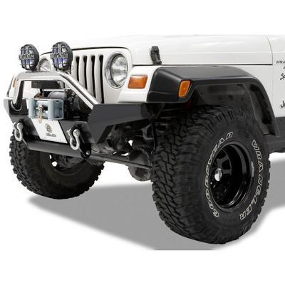Bestop HighRock 4x4 High Access Front Winch Bumper (Black) - 44917-01
