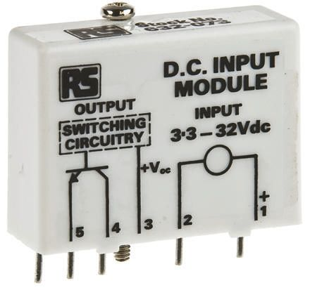 Sensata / Crydom , 110V ac/dc Interface Relay Module, Through Hole Terminal , PCB Mount