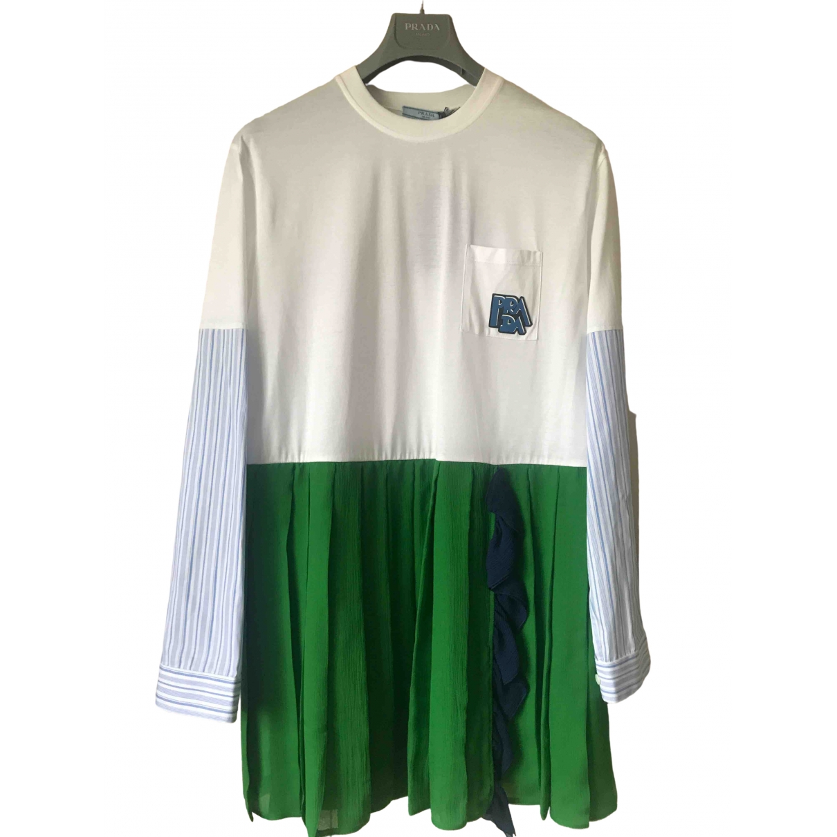 Prada \N Kleid in  Bunt Baumwolle