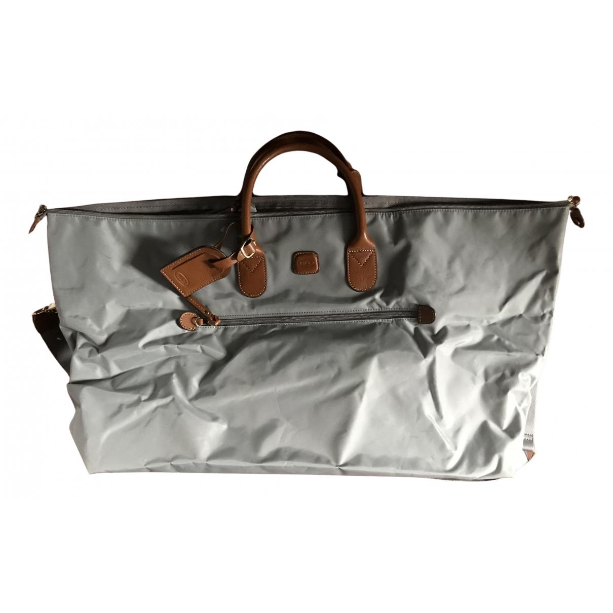 Brics - Sac de voyage   pour femme en toile - gris