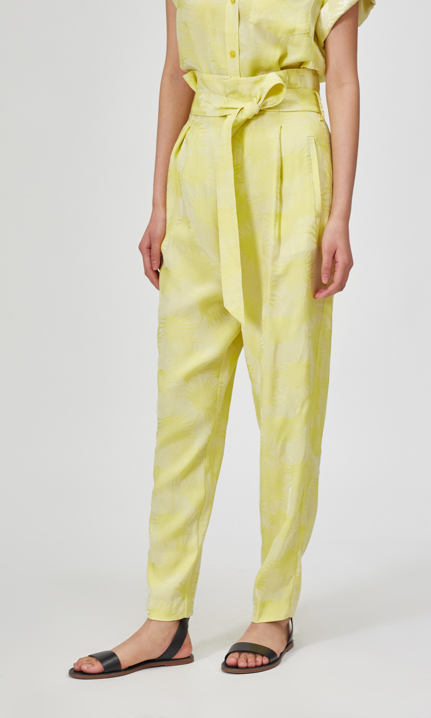 Cropped Joele Trouser by Equipment