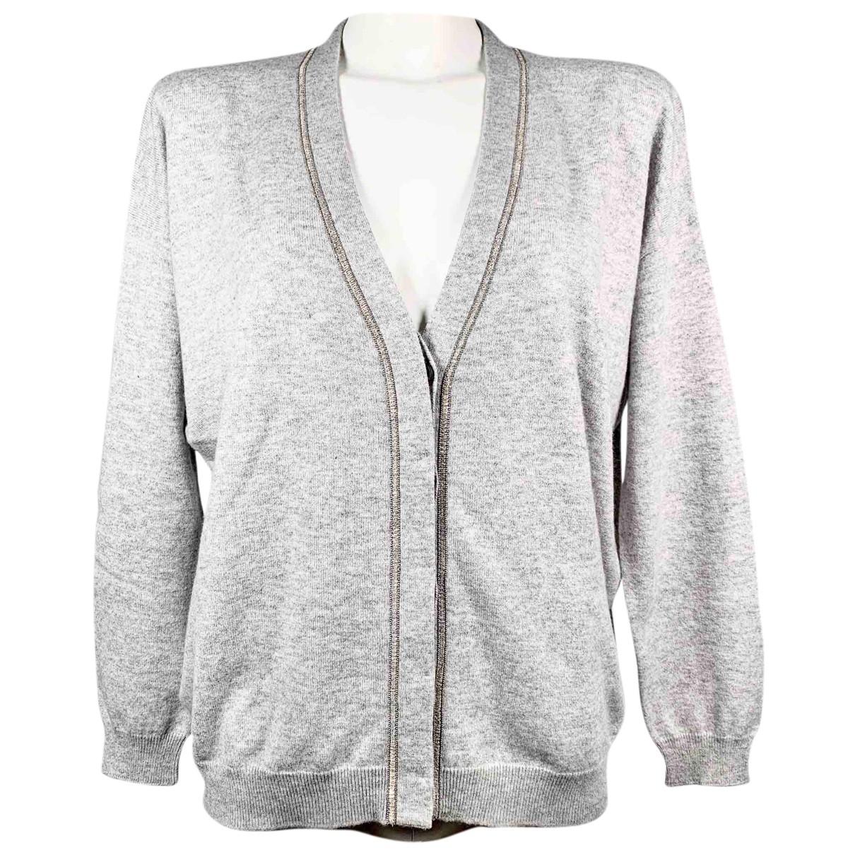 Brunello Cucinelli N Grey Cashmere Knitwear for Women L International