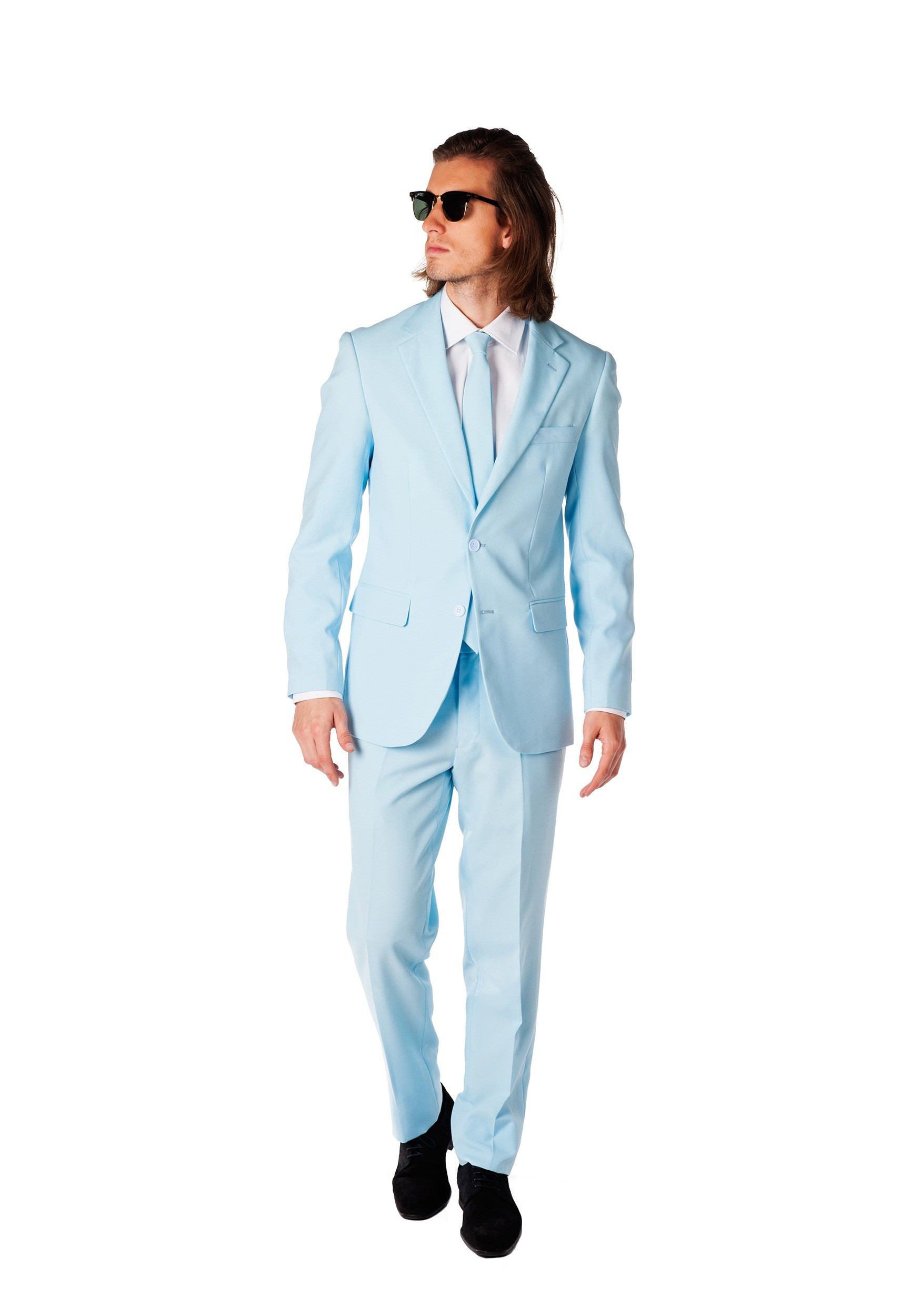 Mens Opposuits Baby Blue Suit