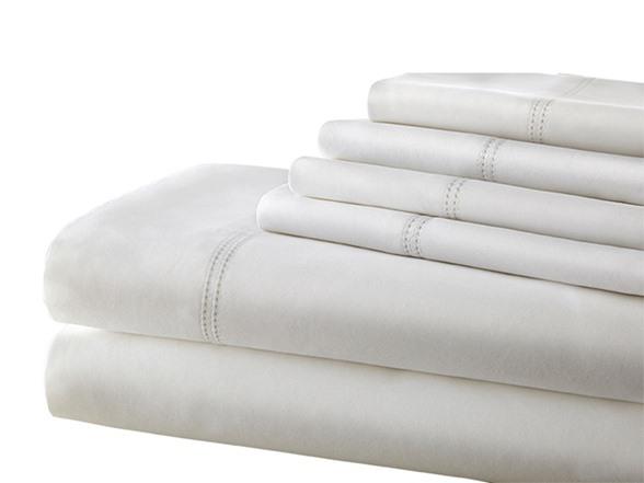 1000tc Cotton Rich 6pc Sheet Set