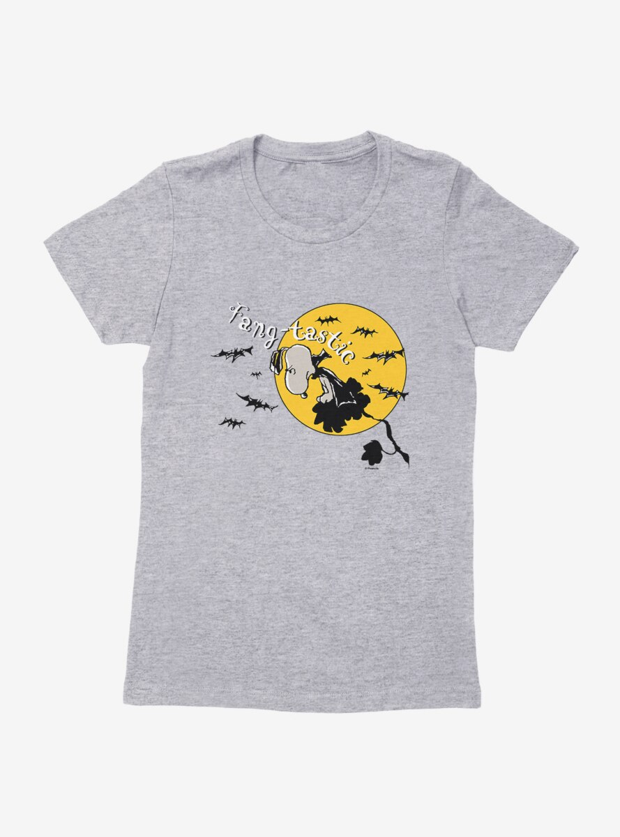 Peanuts Fangtastic Snoopy Womens T-Shirt