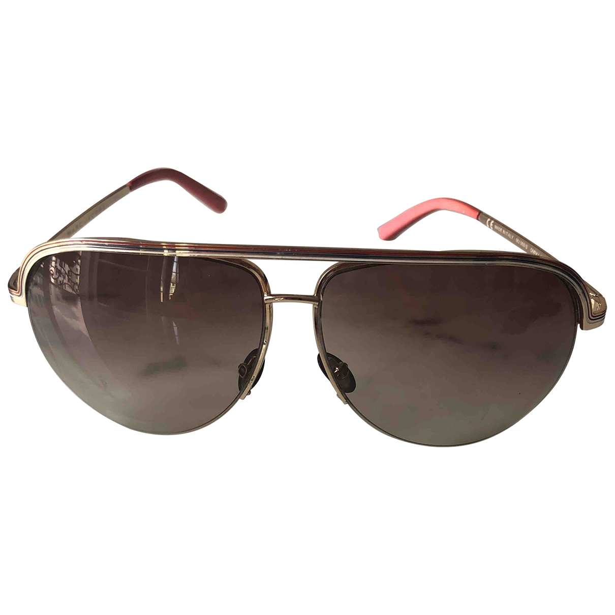 Marc Jacobs \N Gold Metal Sunglasses for Women \N